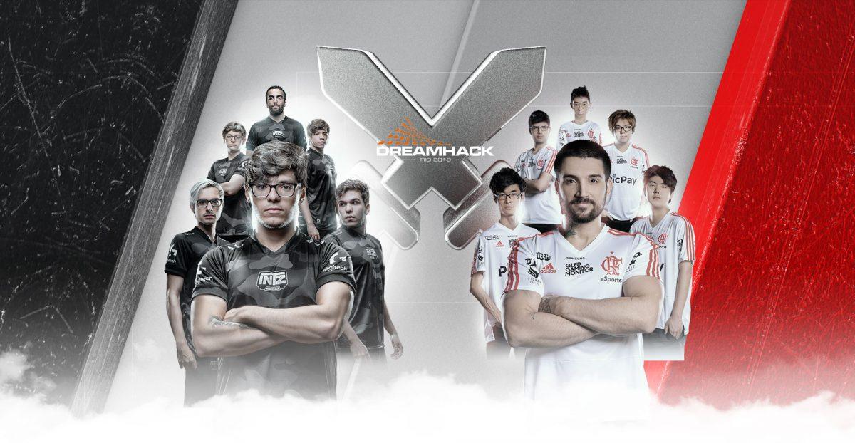 INTZ participará de showmatch com Flamengo no DreamHack Open Rio 2019